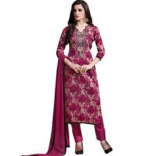 Readymade Ethnic Print Cotton & Embroidery Salwar Kameez Suit Indian-Sheesha-367
