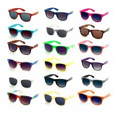 Wayfare Aviator Sunglasses Retro Vintage 80's Mens Womens Ladies Designer UV400