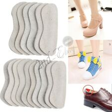 Leather Padded Shoe Back Heel Inserts Insoles Pads Cushion Liner Grips Foot Care