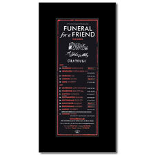FUNERAL FOR A FRIEND - UK Tour 2005 Mini Poster