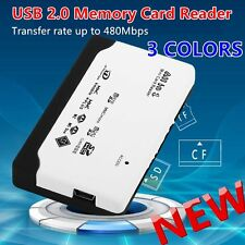 All in 1 USB Card Reader USB 2.0 Memory Card Reader for SD TF CF XD MS Card LKCN