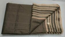 ANTIQUE VINTAGE TWO COLOR PURE REAL SILK WEAVING WOVEN SARI SAREE