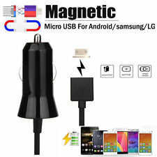 Car Magnetic Charger Micro USB 5V 2A USB Output Charging Adapter Charger Cable