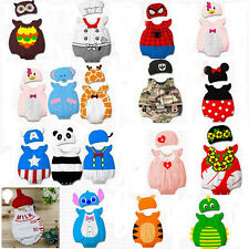 Baby Toddler Boy Girl Animal Costume Bodysuit Outfit Infant Romper Clothes Set