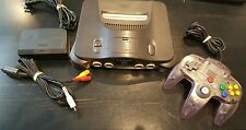 Nintendo 64 Game Console with Controller