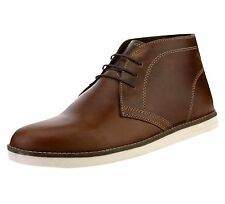 Red Tape Men's Crumlin Desert Leather Casual Boots Tan