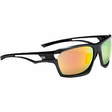 OPTIC NERVE Varient Sunglasses Oval Gray Lens Red Polarized Each 2610-1020