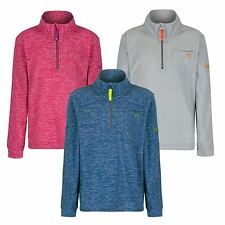 Regatta Boys / Girls Chopwell Half Zip Marl Pattern Lightweight Fleece RKA200