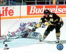 Mario Lemieux Pittsburgh Penguins NHL Action Photo TW169 (Select Size)