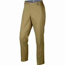 Nike Modern Fit Washed Men's Golf Pants 725672 235 Khaki 38x30 New with Tags $90
