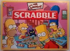 Spare Parts Spares Missing Pieces Simpsons Scrabble Board Game Mattel 2005