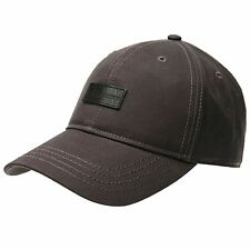 Firetrap Mens Woven Baseball Cap Hat Arched Curved Peak Headwear Accessories