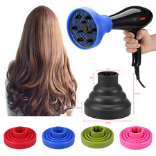 Universal Blower Hairdressing Salon Curly Hair Dryer Folding Diffuser Cover DH