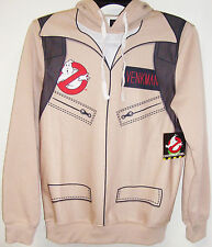 GHOSTBUSTERS PETER VENKMAN ELECTRONIC PROTON PACK UNIFORM PULLOVER HOODIE NEW