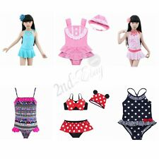 Girls Swimwear Kids Swimsuit Swimming Costume Bathing Suit Tankini Bikini 2-10T