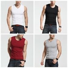 Mens Boys Casual Tank Top Muscle Sleeveless T-shirts Sportwear Vest Undershirts