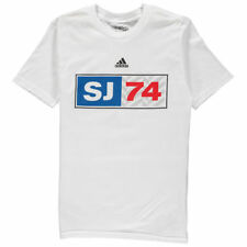 San Jose Earthquakes Adidas Jersey Hook Youth  T-Shirt - White