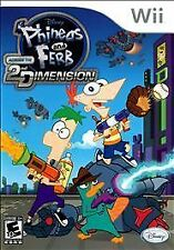 Phineas and Ferb: Across the Second Dimension  (Wii, 2011)