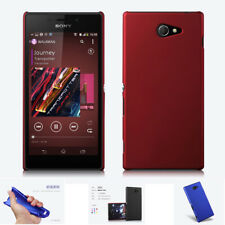UltraThin Silicone Rubber Matte Case Back Phone Protector Cover For SONY Xperia