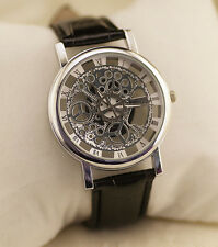 Fashion Women's Casual Quartz Stainless Steel Leather Strap Analog Wrist Watches
