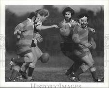1978 Press Photo Houston Rugby Club plays Ruckers - hca01866