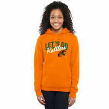 Florida A&M Rattlers Women's Let's Go Pullover Hoodie - Orange - NCAA