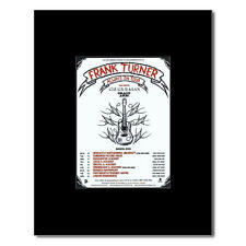 FRANK TURNER - UK Tour March 2010 Mini Poster