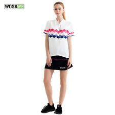 Comfortable Women Cycling Jersey Pleated Skirt Shorts Bike Bicycle Padded Lady