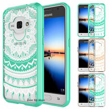 For Samsung Galaxy Luna/Express 3 Armor Shockproof Hybrid PC TPU Hard Case Cover