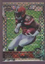 VINCE MAYLE CLEVELAND BROWNS MINT ROOKIE XFRACTOR RC 2015 TOPPS CHROME