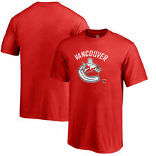 Vancouver Canucks Fanatics Branded NHL Youth Banner Wave  T-Shirt - Red