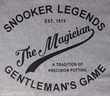 Snooker Legends Tee The Magician Inspired T Shirt Top Mens Great Gift Murphy