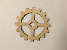Crafting Supplies - Wooden Gears, Gear, Laser Cut Wood, A003, X Size and Thick