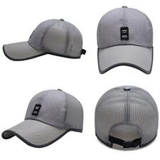 New Mesh Trucker Hat Women Men Baseball Golf Ball Sport Outdoor Casual Sun Cap