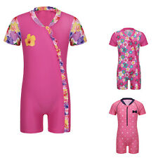 New Arrival Baby Girls UV 50+ Sun Protection Swimsuit Swimming Costume 12m-3Y