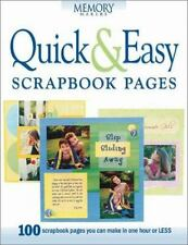 Quick & Easy Scrapbook Pages (Memory makers) Memory Makers Paperback