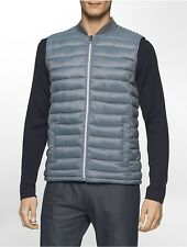 calvin klein mens packable puffer vest jacket