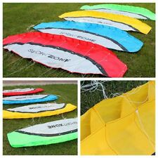 Outdoor Toys Dual Line Parafoil Parachute Huge 2.5m Stunt Sport Beach Kite Hot