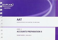 Accounts Preparation II - Pocket Notes 0857322559