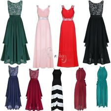 Fashion Women Formal Evening Prom Party Bridesmaid Ball Gown Cocktail Long Dress
