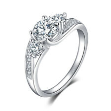 JewelryPalace Classic 1.54ct Cubic Zirconia  Wedding Engagement Ring 925 Silver