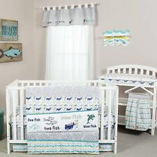 Trend Lab Dr. Seuss New Fish Baby Nursery Crib Bedding Set