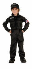 S.W.A.T SWAT Team Police Man Policeman Officer Cop Halloween Child Boys Costume