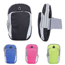 New Outdoor Arm Band Cycling Running Sport Wrist Wallet Cell Phone Key Pouch Bag