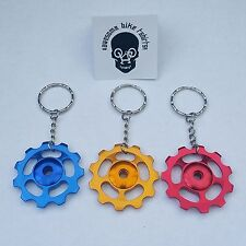 Bicycle Keyring Keychain Gift for Cyclist or Bike Rider MTB DH ROAD Christmas XT