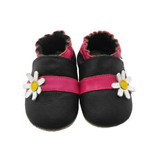 Sayoyo Baby Soft Genuine Leather Toddler Infant Shoes Moccasins w/ Flowers NEW