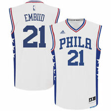 Philadelphia 76Ers Adidas Youth Outerstuff  Replica Jersey Basketball - White