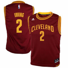 Kyrie Irving Cleveland Cavaliers adidas Youth Replica Road Jersey - Wine - NBA