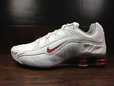 Nike Shox Turbo 3.2 SL (White/Red/Black) Running [455541-160] Men Sz 8
