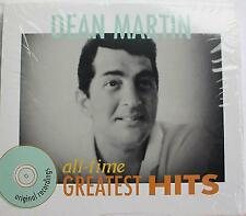 DEAN MARTIN CD All-Time Greatest Hits by Dean Martin (CD, Oct-1990, Curb)